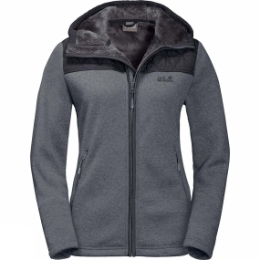 Jack Wolfskin Jack Wolfskin Womens Pacific Sky Jacket Pebble Grey