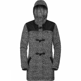 Jack Wolfskin Jack Wolfskin Womens Belleville Coat Black All Over