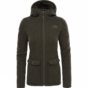 The North Face The North Face Womens Crescent Parka New Taupe Green Heather