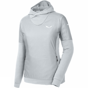Salewa Salewa Womens Pedroc Alpha Hoody Grey