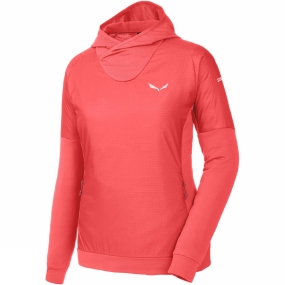 Salewa Salewa Womens Pedroc Alpha Hoody Hot Coral