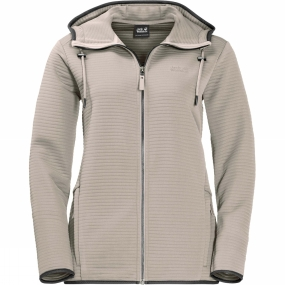 Jack Wolfskin Jack Wolfskin Womens Modesto Hooded Jacket Dusty Grey