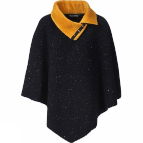 Ayacucho Womens Dotted Poncho