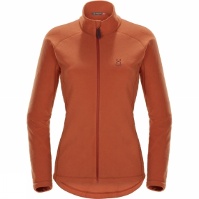 Haglofs Womens Astro II Jacket Dusty Rust