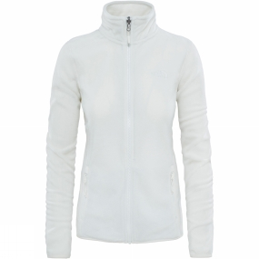 The North Face The North Face Womens 100 Glacier Full Zip Fleece Vaporous Grey