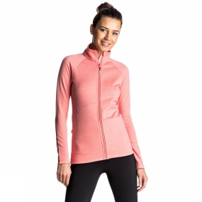 Roxy Roxy Womens Dailyrun Fleece Shell Pink