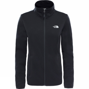 The North Face The North Face Womens Tanken Full Zip Jacket TNF Black