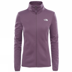 The North Face The North Face Womens Tanken Full Zip Jacket Black Plum
