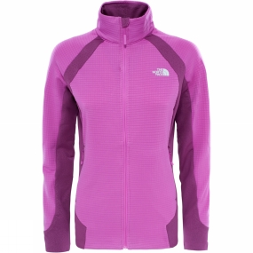 The North Face The North Face Womens Kantan Full Zip Jacket Sweet Violet