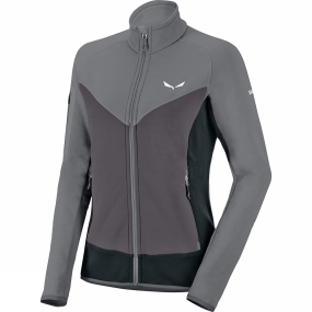Salewa Salewa Womens Ortles Polartec Full Zip Fleece Quiet Shade