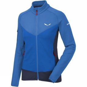 Salewa Salewa Womens Ortles Polartec Full Zip Fleece Royal Blue