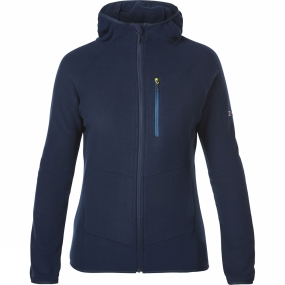 Berghaus Berghaus Womens Verdon Hooded Full Zip Fleece Dusk