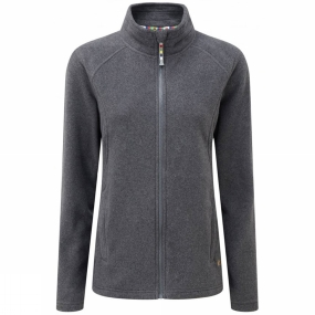 Sherpa Sherpa Womens Karma Fleece Jacket Kharani Heather