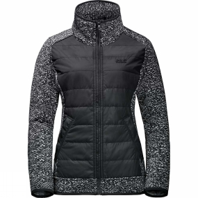 Jack Wolfskin Jack Wolfskin Womens Belleville Crossing Jacket Black All Over