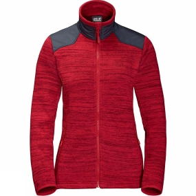 Jack Wolfskin Jack Wolfskin Womens Aquila Jacket True Red