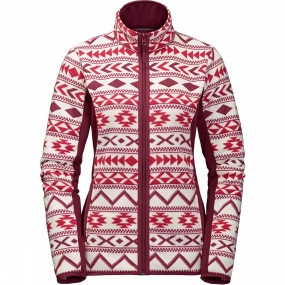 Jack Wolfskin Jack Wolfskin Womens Hazelton Flex Jacket Scarlet All Over