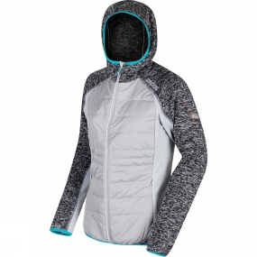 Regatta Womens Pendan Hybrid Full Zip Fleece