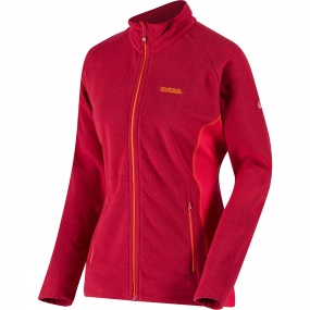 Regatta Womens Tafton Full Zip Fleece