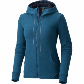 Mountain Hardwear Mountain Hardwear Womens Sarafin Pro Hoodie Dark River