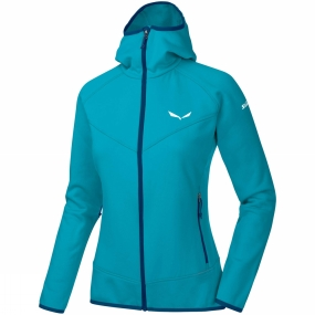 Salewa Salewa Womens Puez 3 PL Full Zip Hoody Caneel Bay