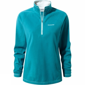 Craghoppers Craghoppers Womens Seline Half zip Forest Teal