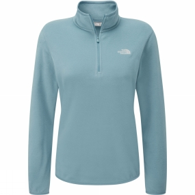 The North Face The North Face Womens Cornice 1/4 Zip Fleece Provincial Blue