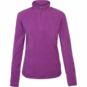The North Face The North Face Womens Cornice 1/4 Zip Fleece Wood Violet