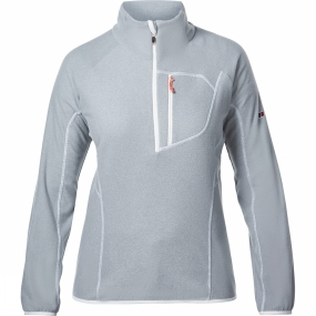 Berghaus Berghaus Womens Spectrum Micro 2.0 Half Zip Fleece Light Quarry Marl