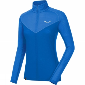 Salewa Salewa Womens Ortles 2 Half Zip Top Royal Blue