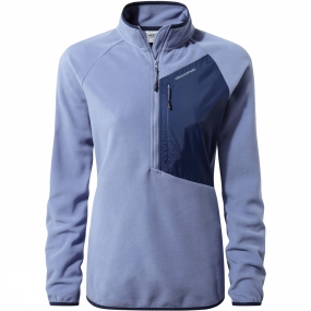 Craghoppers Craghoppers Womens Caitlin Half Zip Fleece China blue