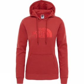The North Face The North Face Womens Drew Peak Pullover Hoodie Bossa Nova Red