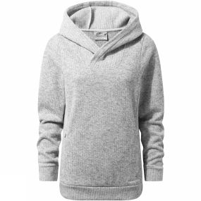 Craghoppers Craghoppers Womens Callins Hood Top Soft Grey Marl