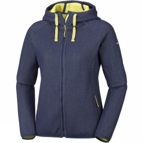 Columbia Columbia Womens Pacific Point Full Zip Hoodie Nocturnal