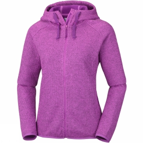 Columbia Columbia Womens Pacific Point Full Zip Hoodie Bright Lavender