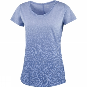 Womens Ocean Fade Short Sleeve Tee