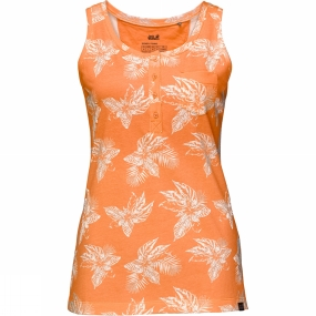 Jack Wolfskin Womens Tropical Top Papaya All Over