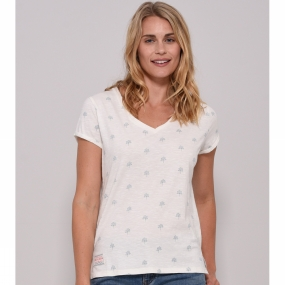 Womens Trees V Neck