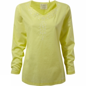 Craghoppers Craghoppers Womens Rayna Long Sleeve Top Limeade