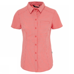 The North Face The North Face Women's Short Sleeve Bryce Shirt Cayenne Red