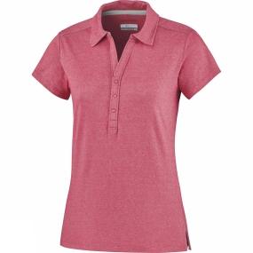 columbia-women-shadow-time-polo-red-camellia