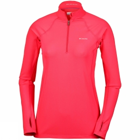 Columbia Womens Midweight Stretch Long Sleeve 1/2 Zip