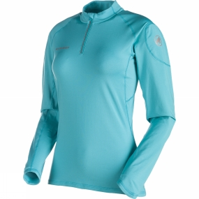 Mammut Womens MTR 141 Thermo Long Sleeve Zip Top