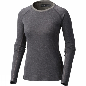 Mountain Hardwear Mountain Hardwear Womens Kinetic L/S Crew Shark