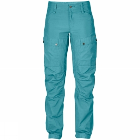 Fjallraven Technically advanced trekking trousers with optimised fit and carefully planned details. The Women