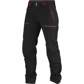 Haglofs Haglofs Womens Breccia Pants True Black/Bigarreau