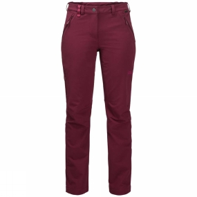 Jack Wolfskin Jack Wolfskin Womens Activate XT Trousers Garnet Red