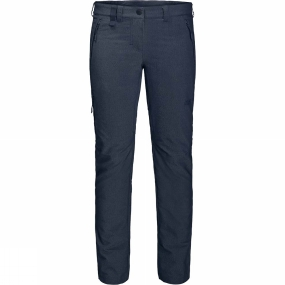 Jack Wolfskin Jack Wolfskin Womens Activate Sky Trousers Midnight Blue