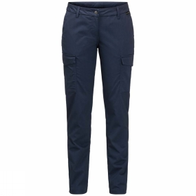 Jack Wolfskin Jack Wolfskin Womens Liberty Cargo Pants Midnight Blue