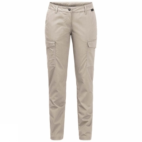 Jack Wolfskin Jack Wolfskin Womens Liberty Cargo Pants Light Sand