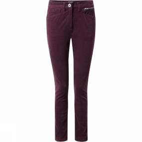Craghoppers Craghoppers Womens Ester Trousers Winterberry